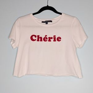 French Connection Cherie Crop Top